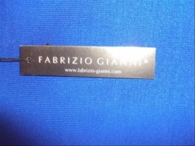 Fabrizio Gianni Lycra Provides Comfort And Mobility. -long Sleeve Ideal For Cooler Temperatures. -comfortable Wrinkle Free Retains Its Top Blue
