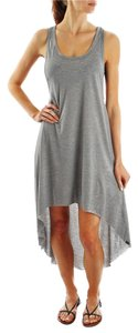 Gray Maxi Dress by Vans High-low Spicey Festival