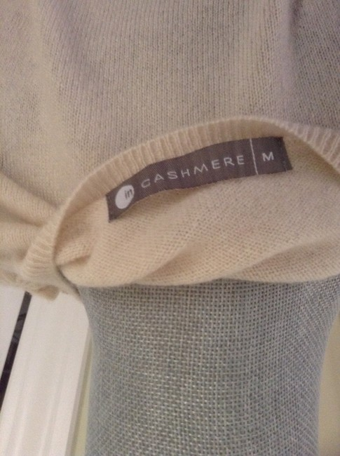 IN Cashmere Button Sweater