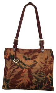 Brighton Tapestry Leather Shoulder Bag