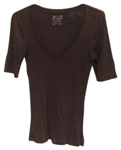 Old Navy V-neck T Shirt Brown