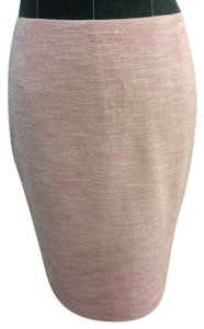 Elie Tahari Pencil Size 4 Skirt Pink / White