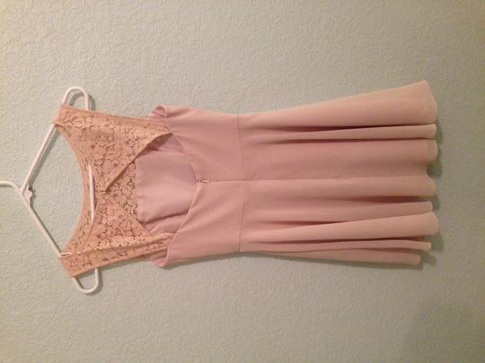 Jasmine Tan/Sand Destination Bridesmaid/Mob Dress Size 0 (XS)