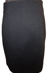 Elie Tahari Pencil Size 4 Knee Length Zip Skirt Black