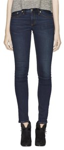 Rag & Bone Straight Leg Jeans-Dark Rinse
