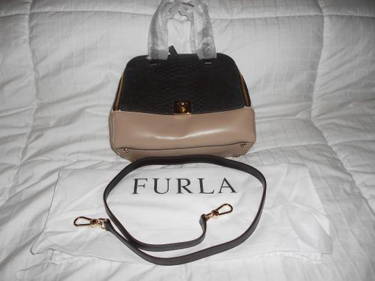 Furla Dramatic Design Made Convertible Shoulder Bag