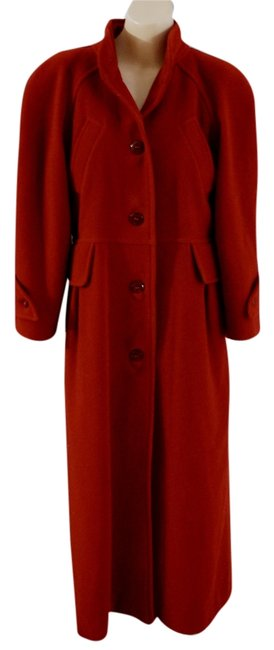 Preload https://img-static.tradesy.com/item/9655072/courreges-red-designer-vintage-wool-military-winter-trench-coat-size-8-m-0-1-650-650.jpg