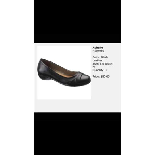 Hush Puppies Black Flats