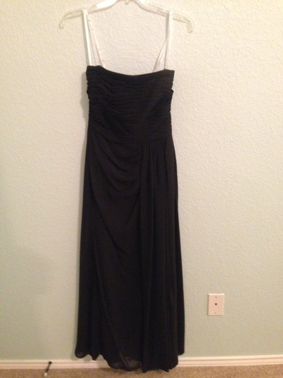 Jasmine Black Formal Bridesmaid/Mob Dress Size 2 (XS)