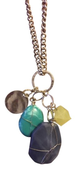 Preload https://img-static.tradesy.com/item/9655750/lucky-brand-silver-blue-and-yellow-necklace-0-1-540-540.jpg
