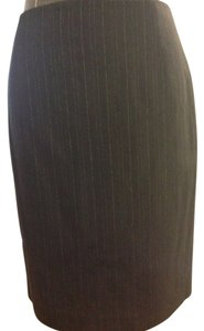 Elie Tahari Skirt Black / Silver pin striped