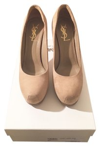 Saint Laurent Ysl Yves Tribute Tribtoo Tribtoo 80 Nude Pumps