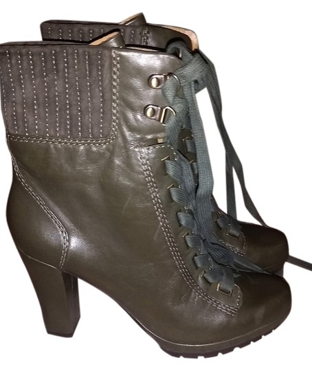 Preload https://item1.tradesy.com/images/joan-and-david-dark-olive-real-leather-new-tie-up-bootsbooties-size-us-8-9656050-0-2.jpg?width=440&height=440