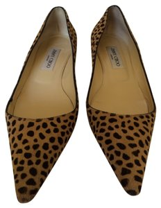 Jimmy Choo Leopard black and brown print Pumps