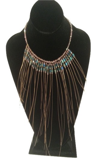 Preload https://item2.tradesy.com/images/teal-amber-violet-bronze-sale-dramatic-statement-necklace-9656131-0-1.jpg?width=440&height=440