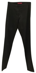 Alice + Olivia Waxed Blac Leggings