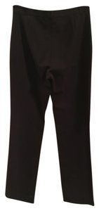 The Limited Straight Pants Black/red