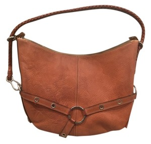 Luella Leather With Metal Shoulder Bag