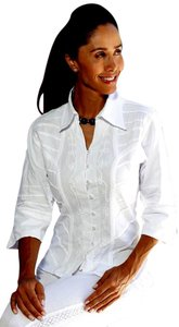 Preload https://item2.tradesy.com/images/lirome-white-organic-cotton-34-bell-hem-sleeve-yurak-fitted-blouse-button-down-top-size-12-l-9656701-0-3.jpg?width=400&height=650