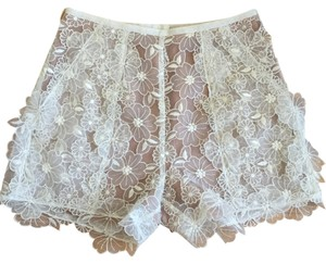 Byron Lars Beauty Mark Shorts White