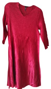 Essentials by Milano Long Sleeve Red Saint Philomena Tunic