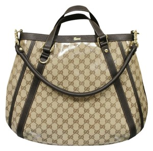 Gucci Gg Canvas Convertible Abbey Shoulder Bag