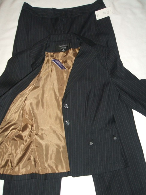 Signature by Larry Levine NWT Signature by Larry Levine Women's Career Pant Suit Set Sz~8 Fully Lined NEW