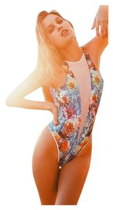 Beach Bunny Wave Lengths One-Piece Swimsuit XS