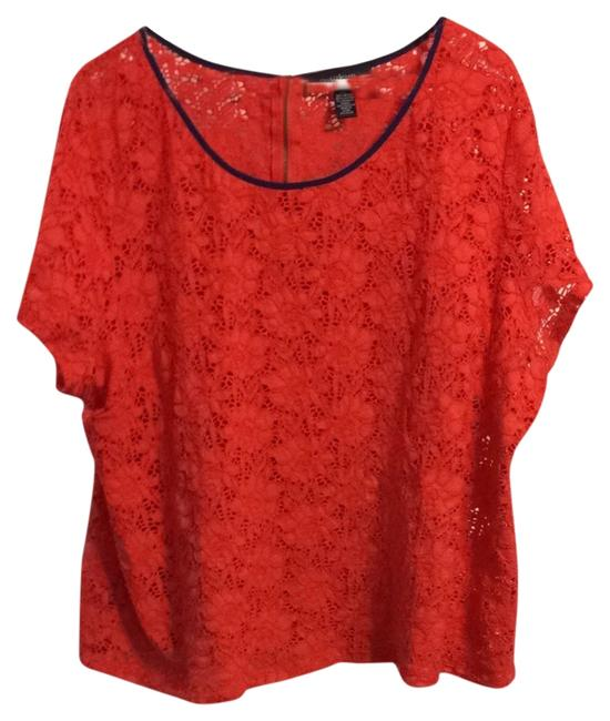 Preload https://item5.tradesy.com/images/style-and-co-top-coral-965799-0-0.jpg?width=400&height=650