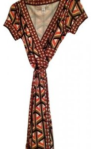 Diane von Furstenberg short dress Multi color geometric on Tradesy