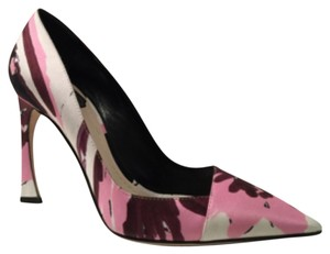 Dior Pink Multi Pumps