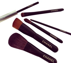 Chanel Chanel MINI brush set 100% authentic 2014 Holiday limited edition set 6 pcs