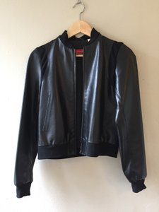 Barneys Co-Op Leather Lamb Vintage Leather Jacket