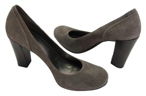 Gianni Bini Suede Leather Size 9.00 M Very Good Condition Gray, Pumps