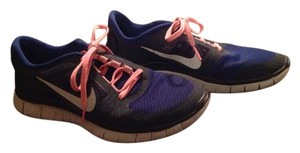 Nike Run Blue With Pink Freestyle Dark blue Athletic