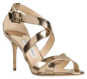 Jimmy Choo Metallic gold