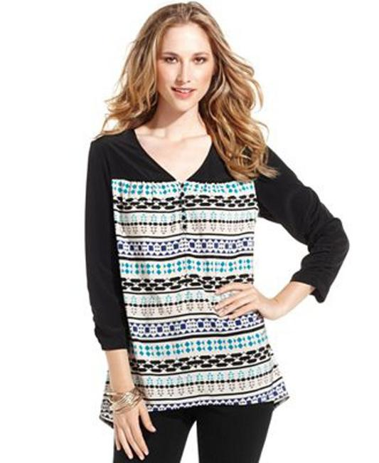 Style & Co Top Jazz Stripe