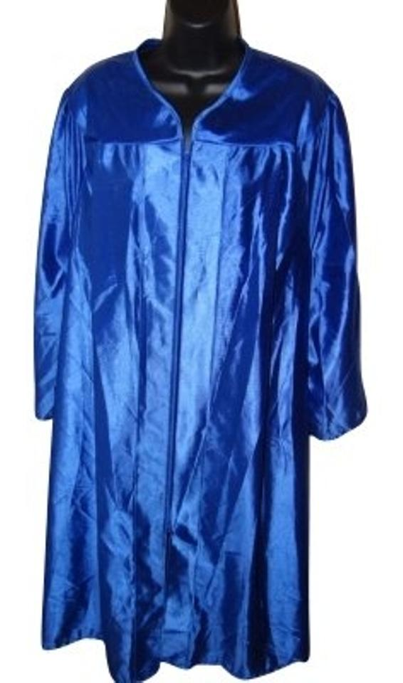 Blue Cap and Gown Graduation Set Poncho/Cape Size OS (one size ...