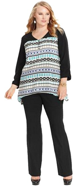 Preload https://item3.tradesy.com/images/style-and-co-top-jazz-stripe-965932-0-0.jpg?width=400&height=650