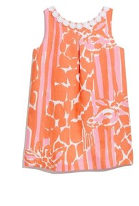 Lilly Pulitzer short dress Pink/orange on Tradesy