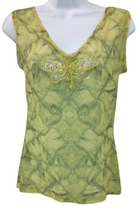 Royal Underground Stretchy Mesh Top GREEN