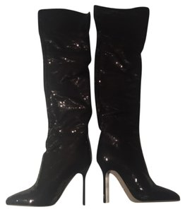 Sergio Rossi stiletto knee high boots Boots