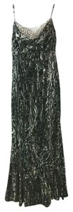 Badgley Mischka Velvet Dress