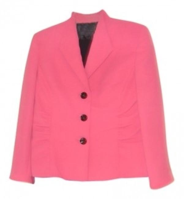 Item - Pink and Black Jacket With Skirt Suit Size 12 (L)