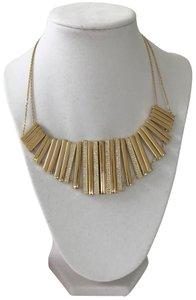 "Fossil Nwt Fossil Gold Tone Pave Glitz Collar Statement Necklace 16""-18"""