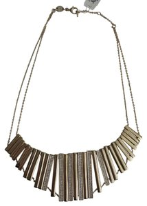 Fossil Nwt Fossil Gold Tone and Pave Glitz Collar Statement Necklace 16