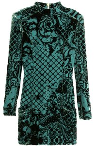 Balmain X H&m Velvet Turtleneck Us 4 Eu 34 Christmas Gifts Dress