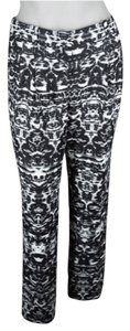 J.Crew Relaxed Pants Black, White