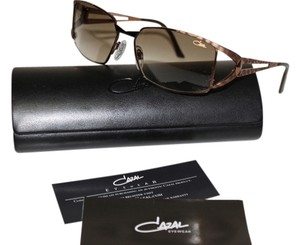 Cazal CAZAL SUNGLASSES 9023 LEOPARD FRAME W/HARD CARRY CASE BROWN LENS