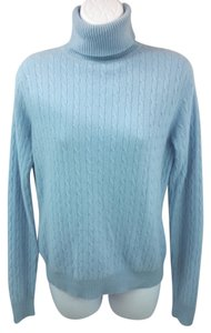 Valerie Stevens Turtleneck 2 Ply Cashmere Sweater